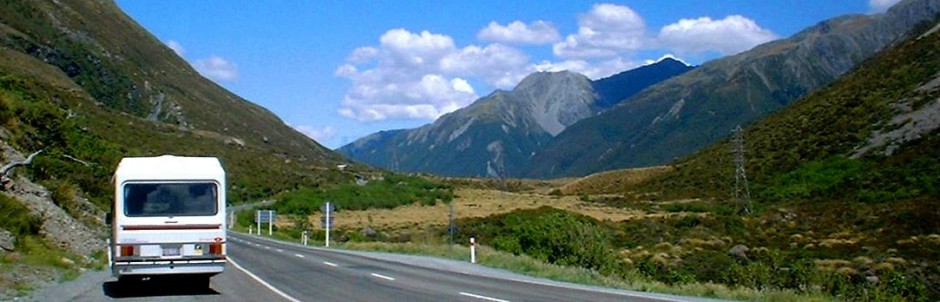 Campervan Holidays New Zealand