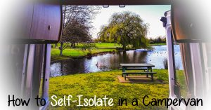 self-isolating in a campervan